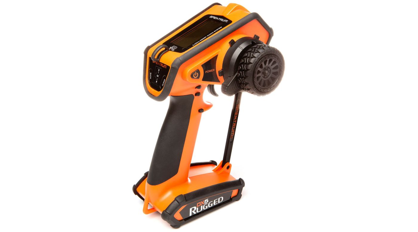Image for DX5 Rugged DSMR TX Only, Orange from HorizonHobby
