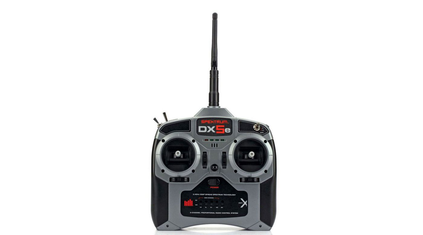 Image for DX5e DSMX 5-Channel Transmitter Only, Mode 1 from HorizonHobby