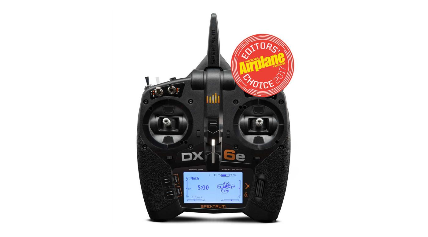 Image for DX6e 6-Channel DSMX Transmitter Only from HorizonHobby