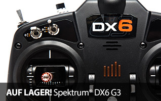 Spektrum DX6 RC Handsender