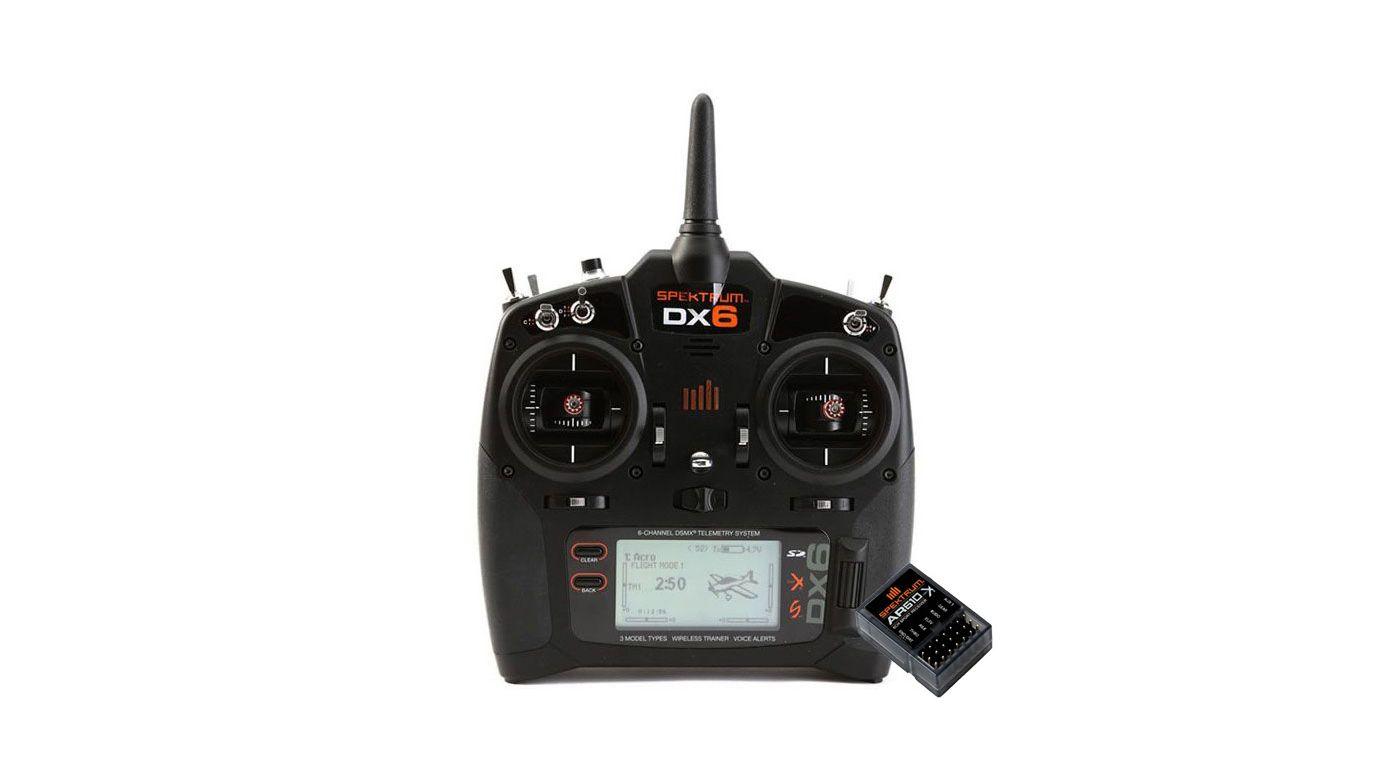 Grafik für DX6 Transmitter Only Mode 2 EU + AR610 in Horizon Hobby
