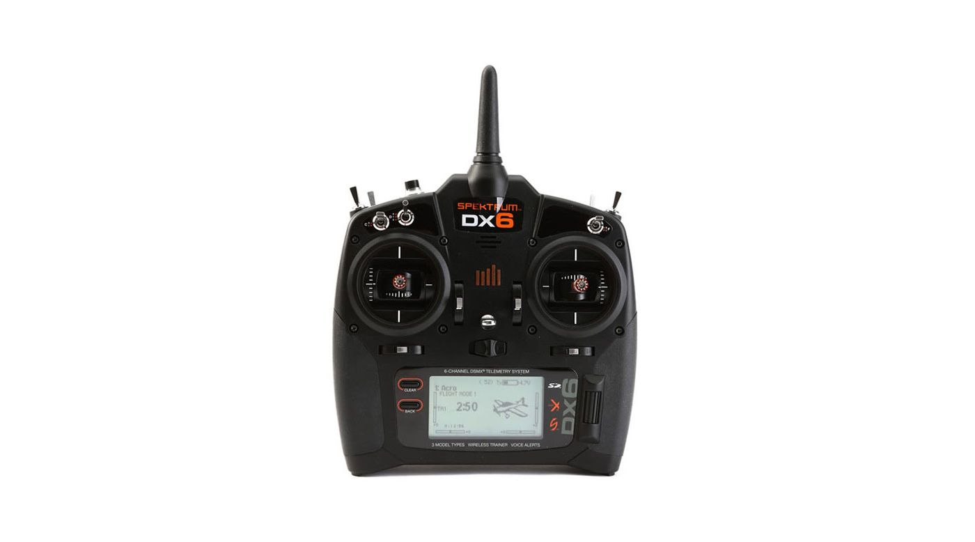 Image for DX6 6-Channel DSMX Transmitter Only Gen 3 EU Version from Horizon Hobby