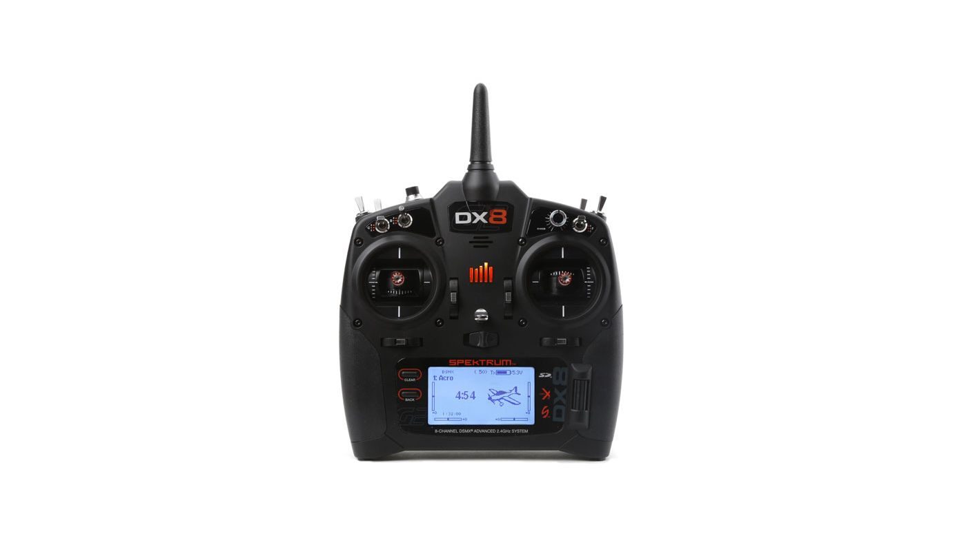 Image for DX8 8-Channel DSMX Transmitter Gen 2 EU Version from Horizon Hobby