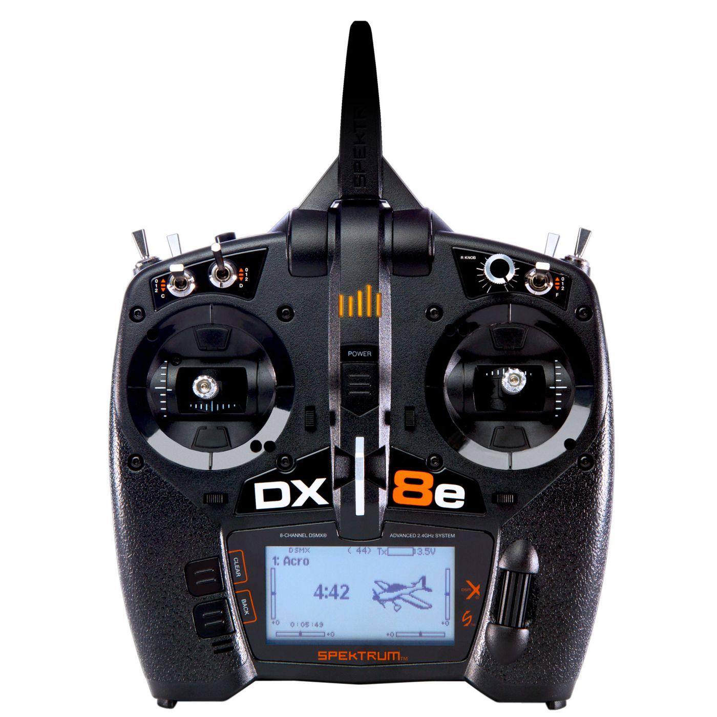 Spektrum Yeni Kumandası : DX8e