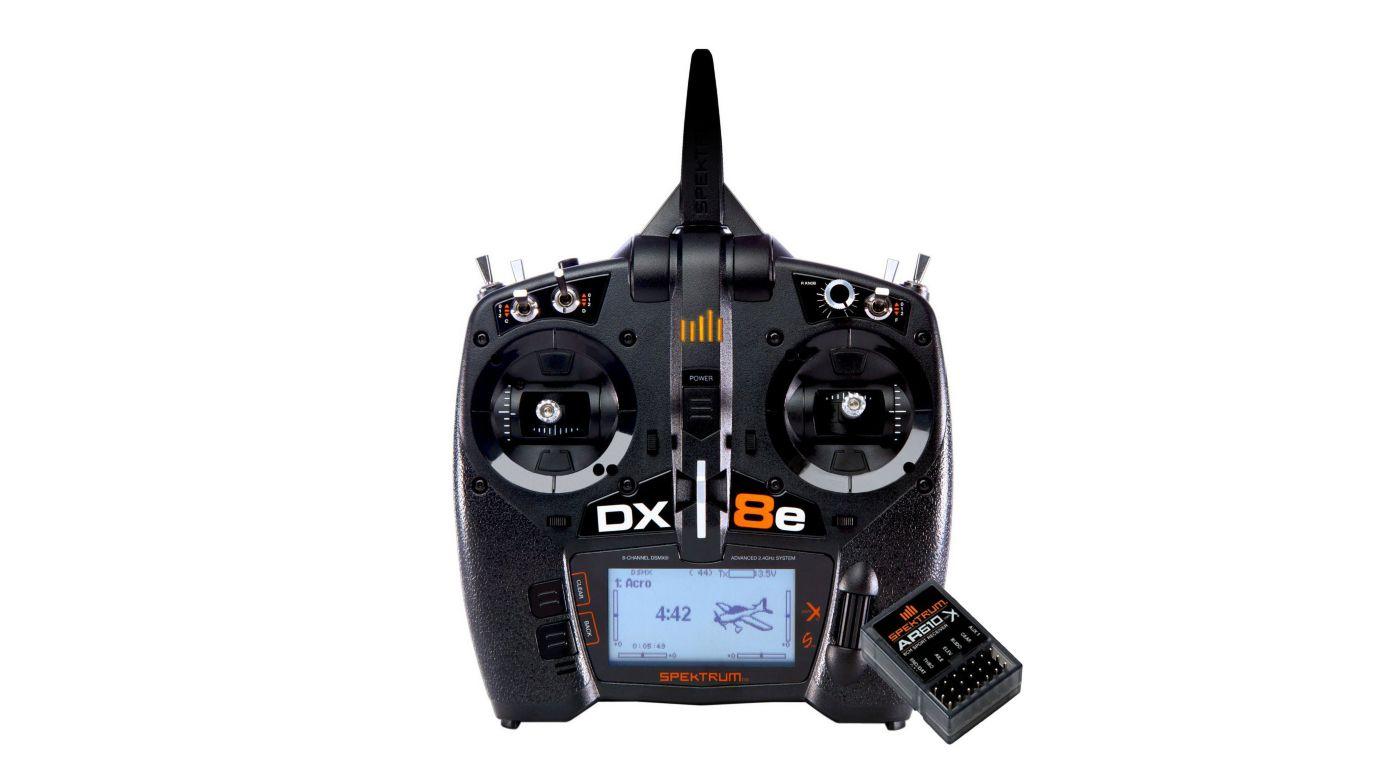 Image pour DX8e 8-Channel Transmitter + AR610 à partir de Horizon Hobby