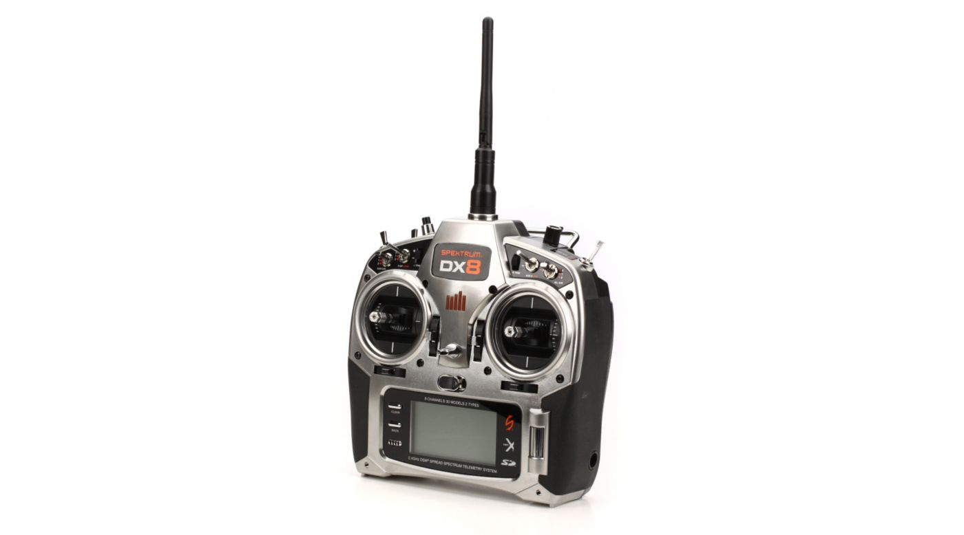 Image for DX8 8-Channel DSMX® Transmitter Only, Mode 2 from HorizonHobby
