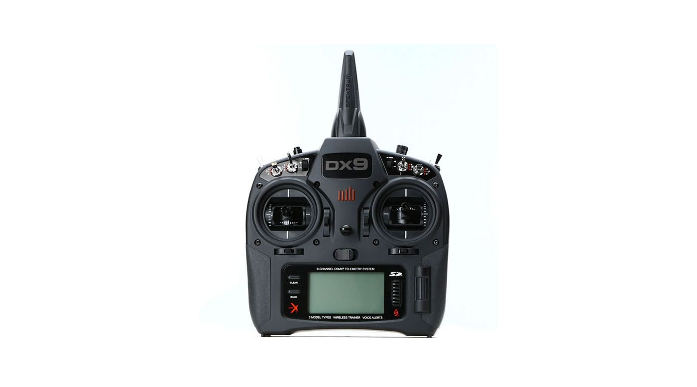 Image for DX9 Black 9-Channel DSMX Transmitter Only EU Version from Horizon Hobby