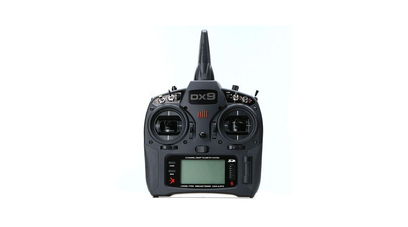 Image pour Émetteur DX9 Black seul MD2 EU à partir de Horizon Hobby