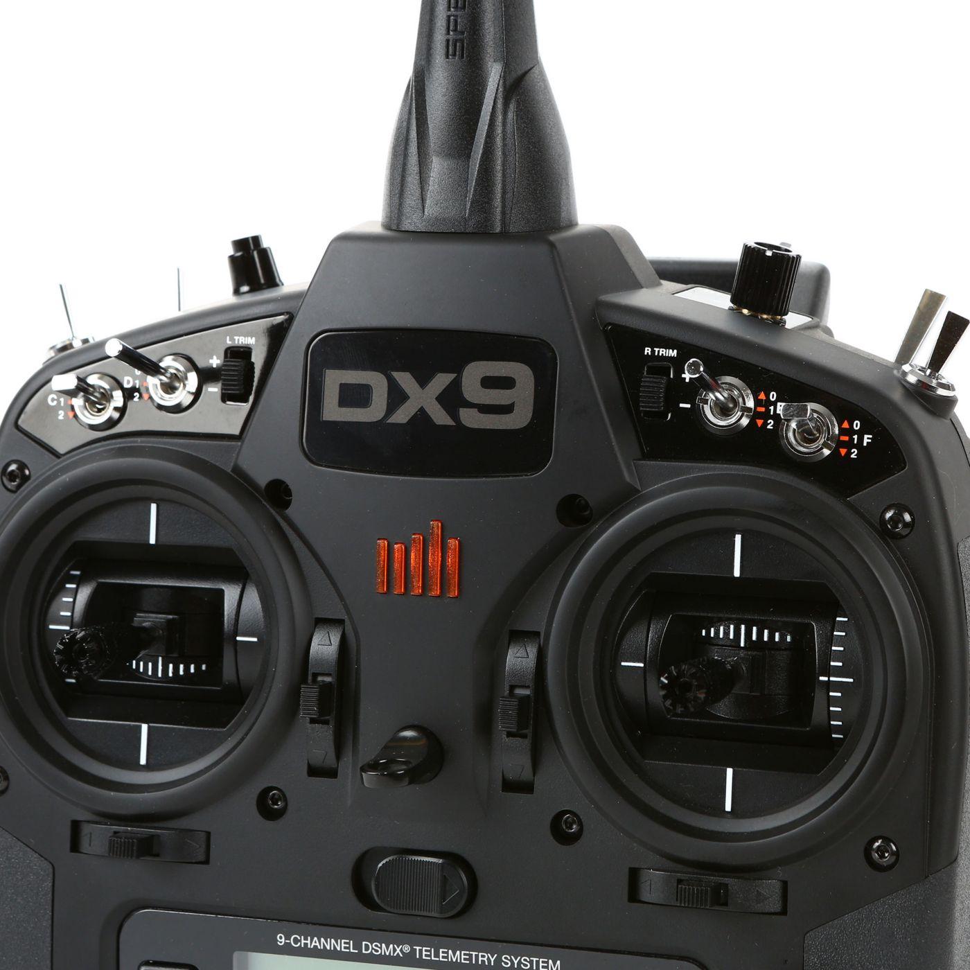 Spektrum DX9 Black 9-Channel DSMX RC Radio Transmitter Only