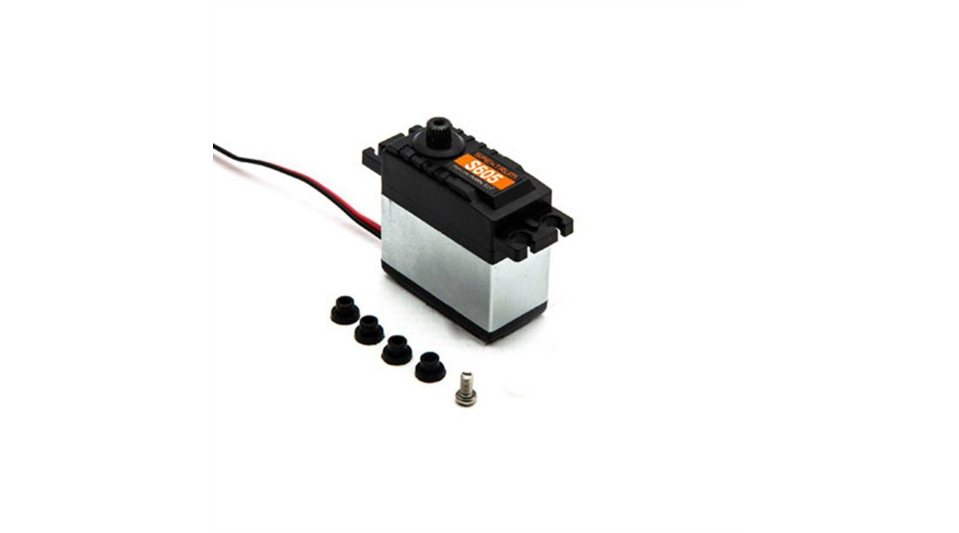 Image for S605 HV Waterproof 9KG Metal Gear Surface Servo, 23T from HorizonHobby