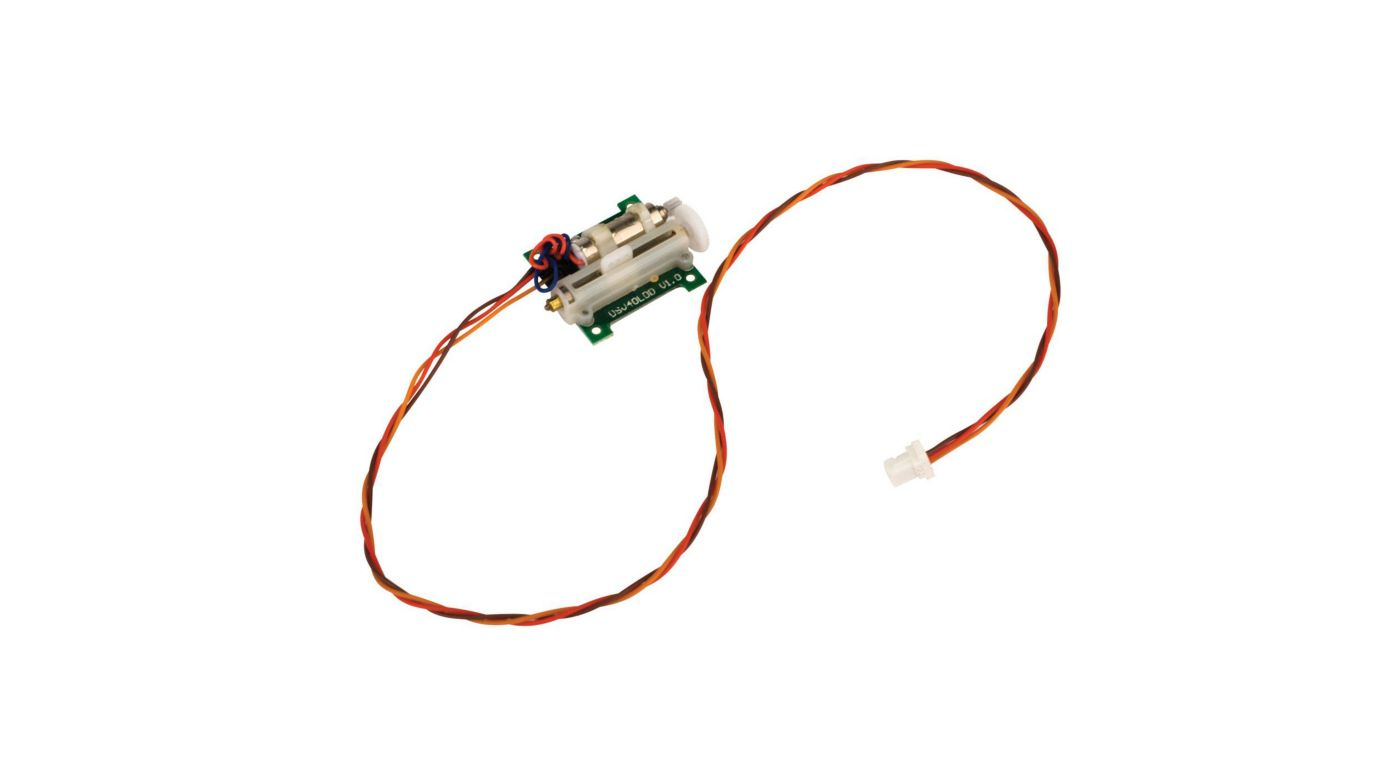 Image for A2030 Ultra-Micro Analog 2.3g Linear Long Throw Offset Servo from HorizonHobby