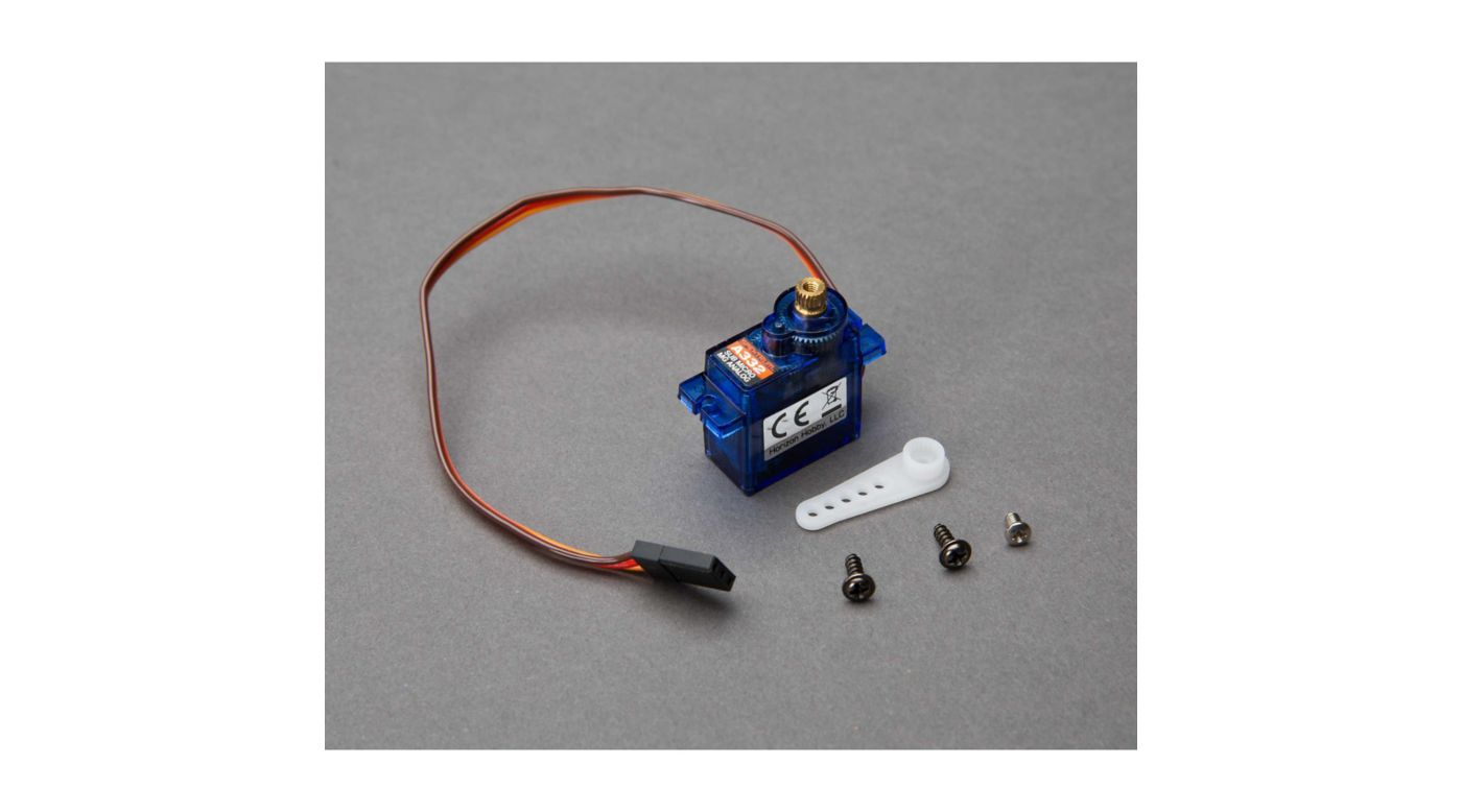 Image for A332 Sub-Micro Analog 9g Metal Gear Aircraft Servo from HorizonHobby