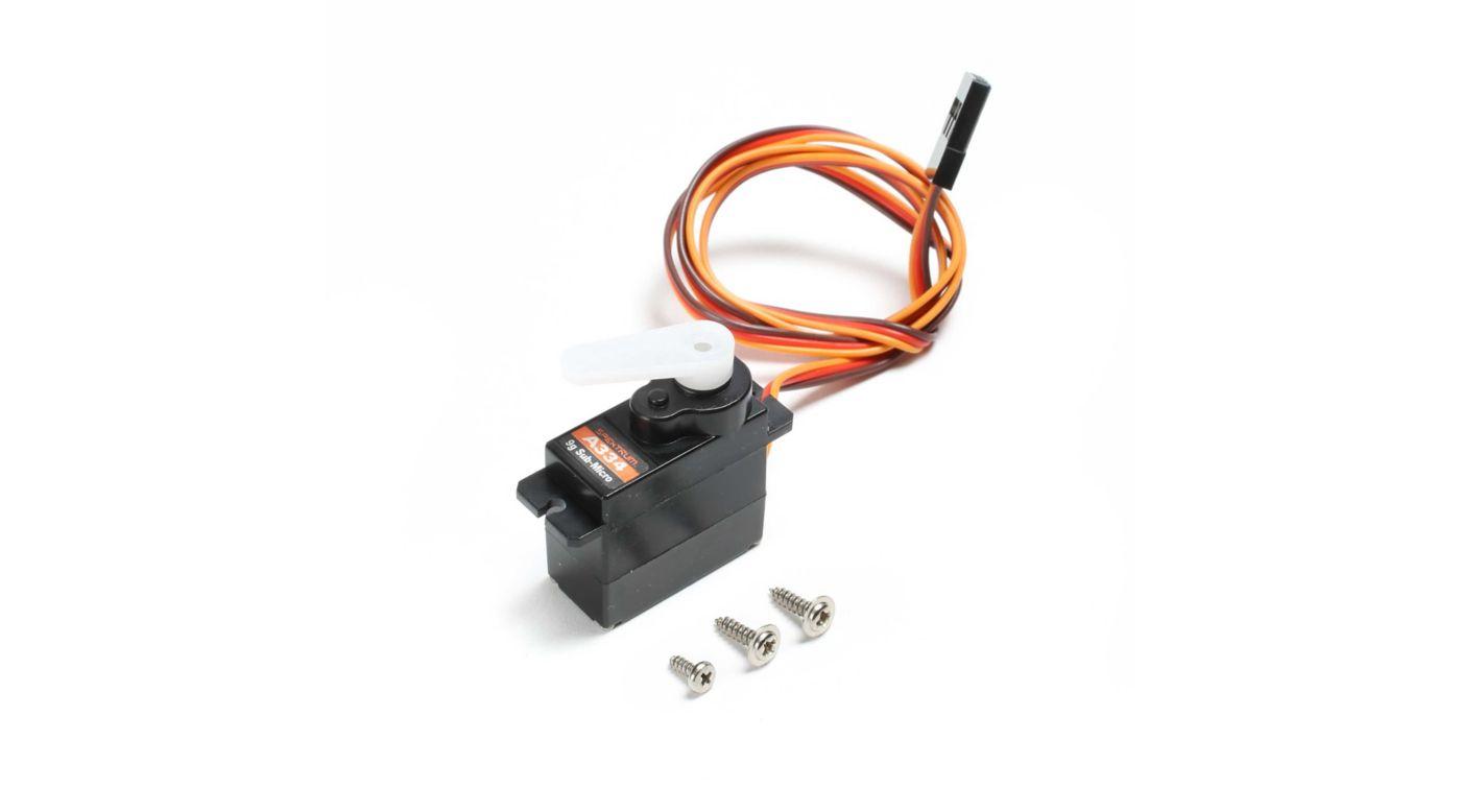 Image for Sub-Micro Digital 9g Plastic Gear Servo from Horizon Hobby