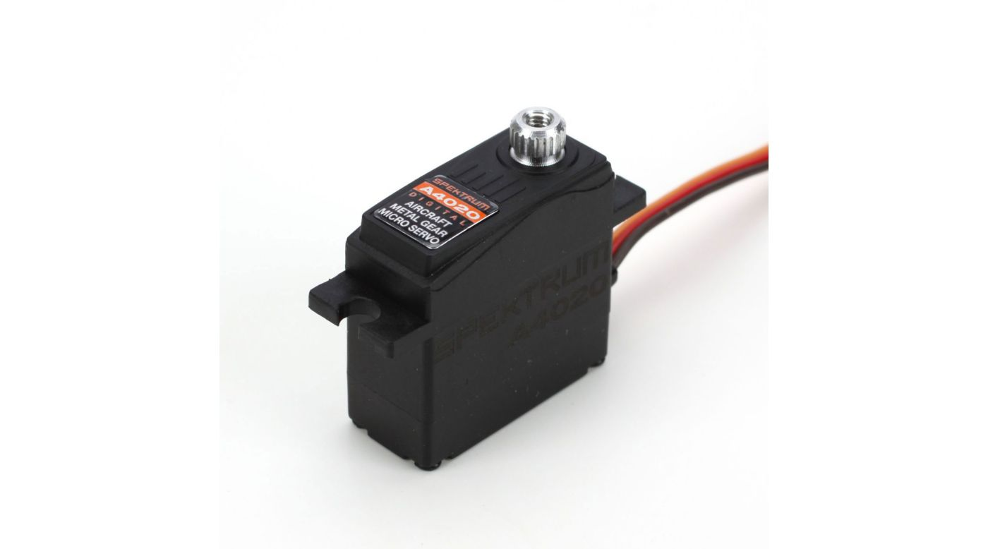 Image for A4020 Micro Digital Aircraft Metal Gear Servo from HorizonHobby