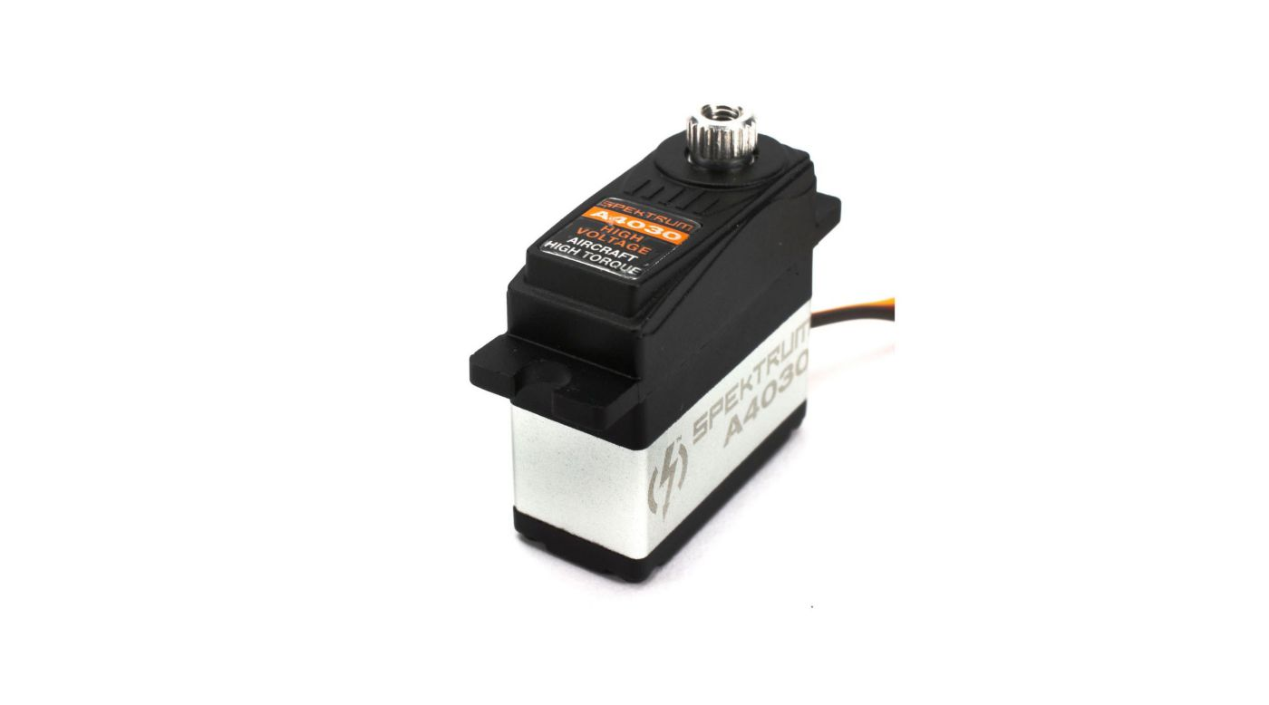 Image for A4030 Micro HV Digital Hi-Torque MG Aircraft Servo from HorizonHobby