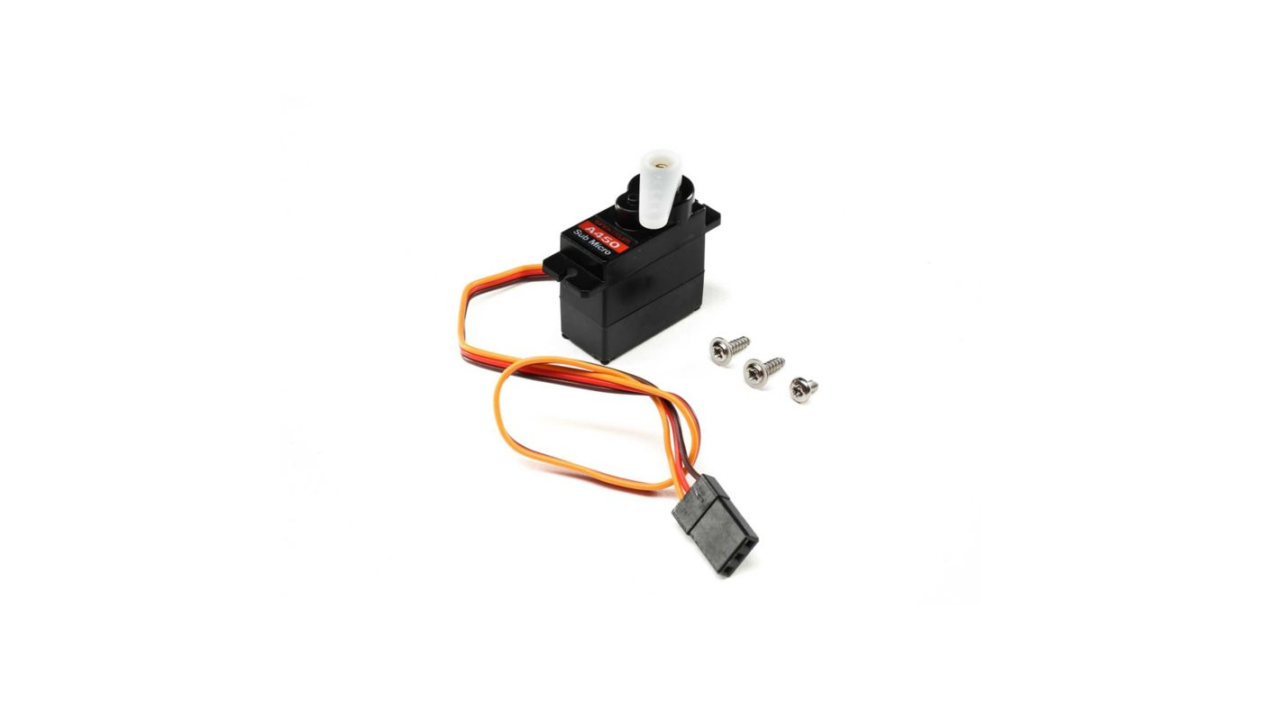 Image for A450 Sub-Micro Analog 13g Metal Gear Aircraft Servo from Horizon Hobby