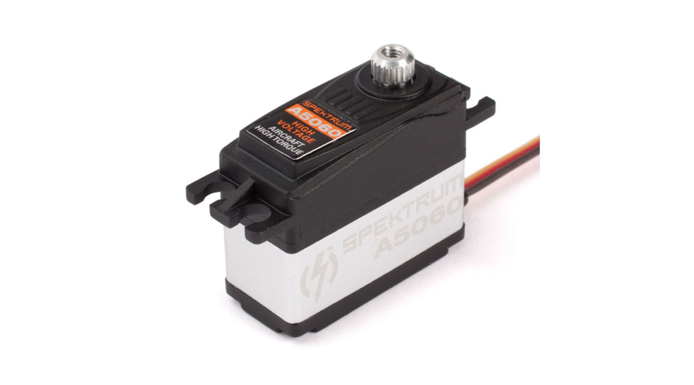 Image for A5060 Mini HV Digital Hi-Torque MG Aircraft Servo from HorizonHobby
