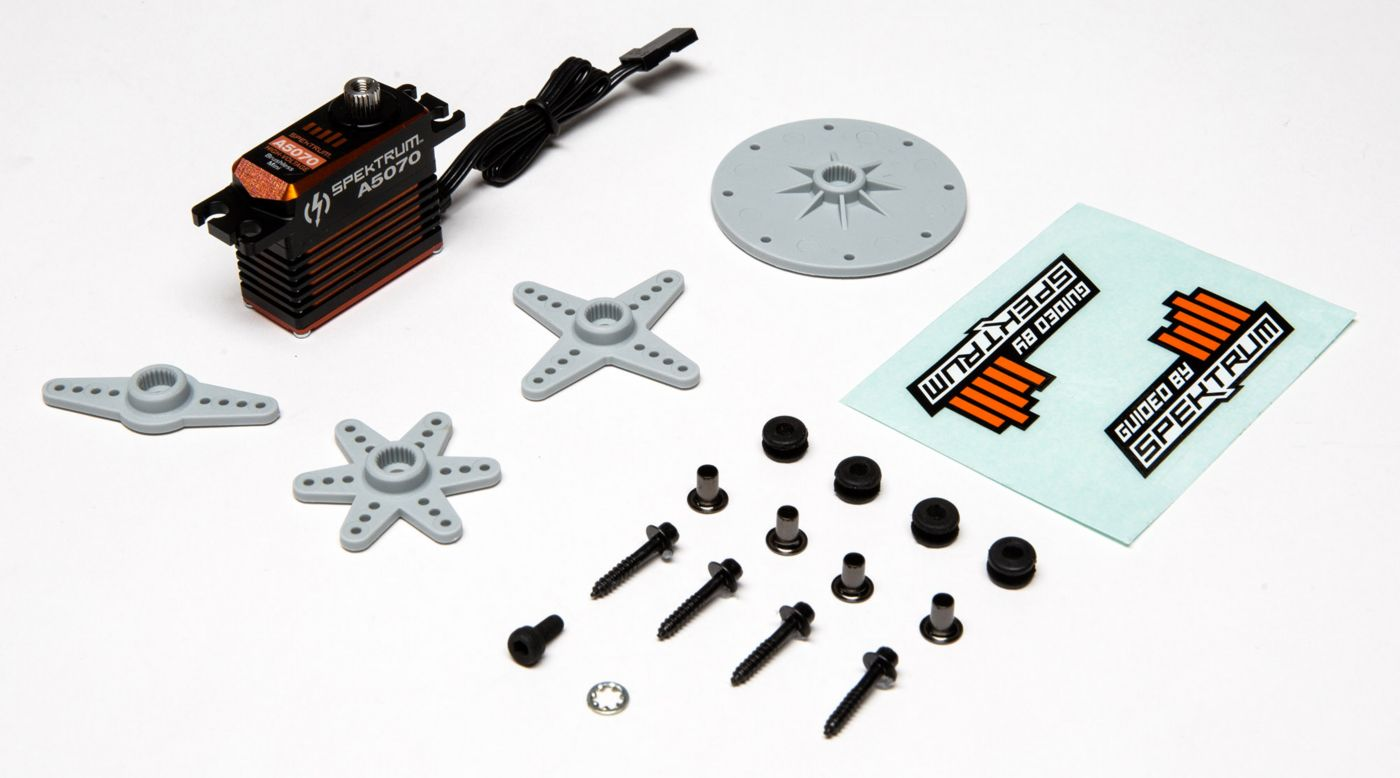 Image for A5070 Mini Digital HV High Torque High-Speed Brushless Metal Gear Aircraft Servo from HorizonHobby