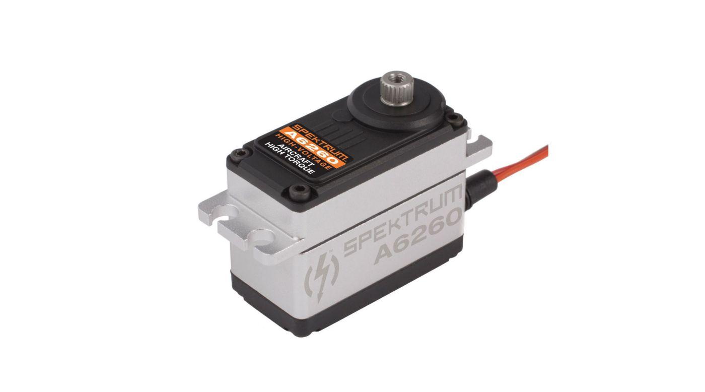 A6260 hv digital hi torque metal gear aircraft servo for Servo motor high torque