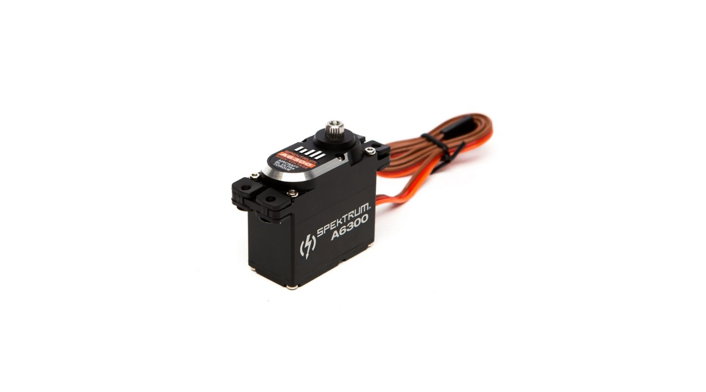 Image for A6300 Standard Digital HV Ultra Torque Brushless Metal Gear Aircraft Servo from Horizon Hobby