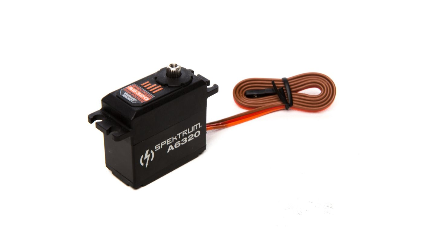 Image for A6320 Standard Digital HV Brushless Mid Torque Metal Gear Aircraft Servo from HorizonHobby