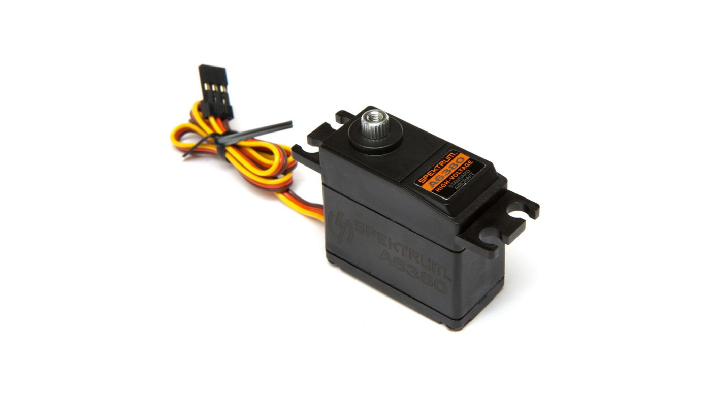 Image for A6380 Standard Digital HV High Torque High Speed Metal Gear Aircraft Servo from Horizon Hobby