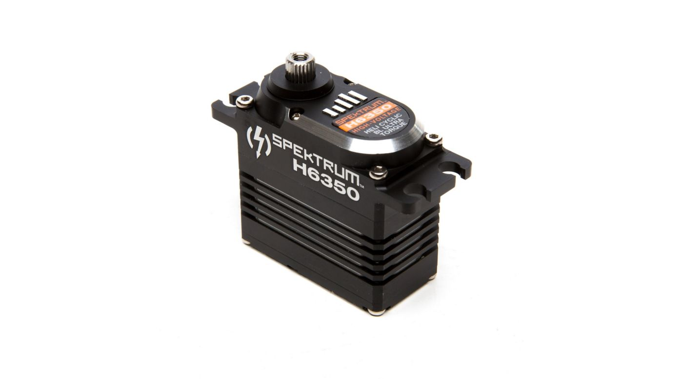 Image for H6350 High-Voltage Brushless Ultra Torque High Speed Heli Cyclic Servo from HorizonHobby