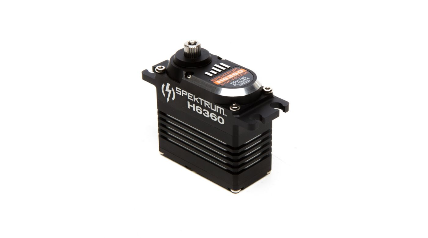 Image for H6360 Standard Digital HV Brushless Mid Torque Ultra Speed Heli Tail Servo from HorizonHobby