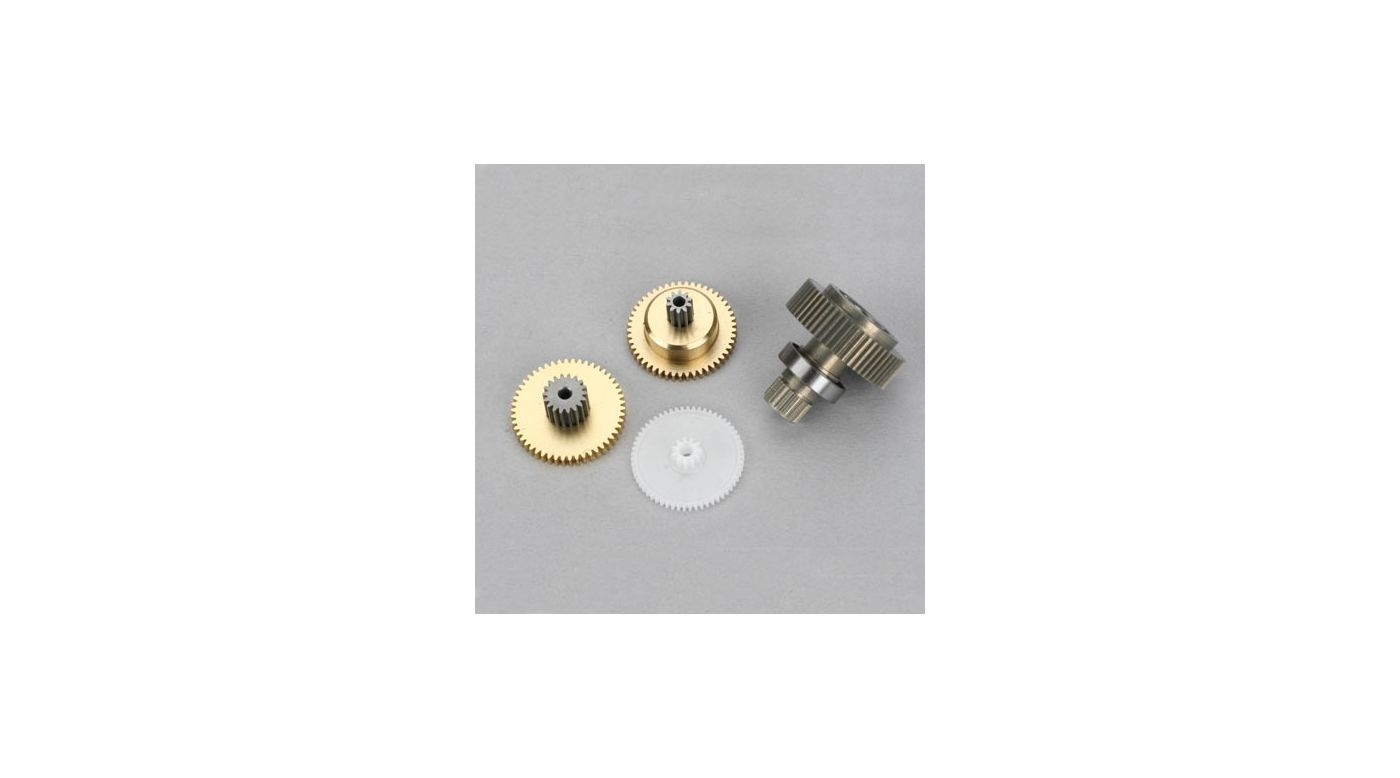 Image for Metal Servo Gear Set: S6020, A6020 from HorizonHobby