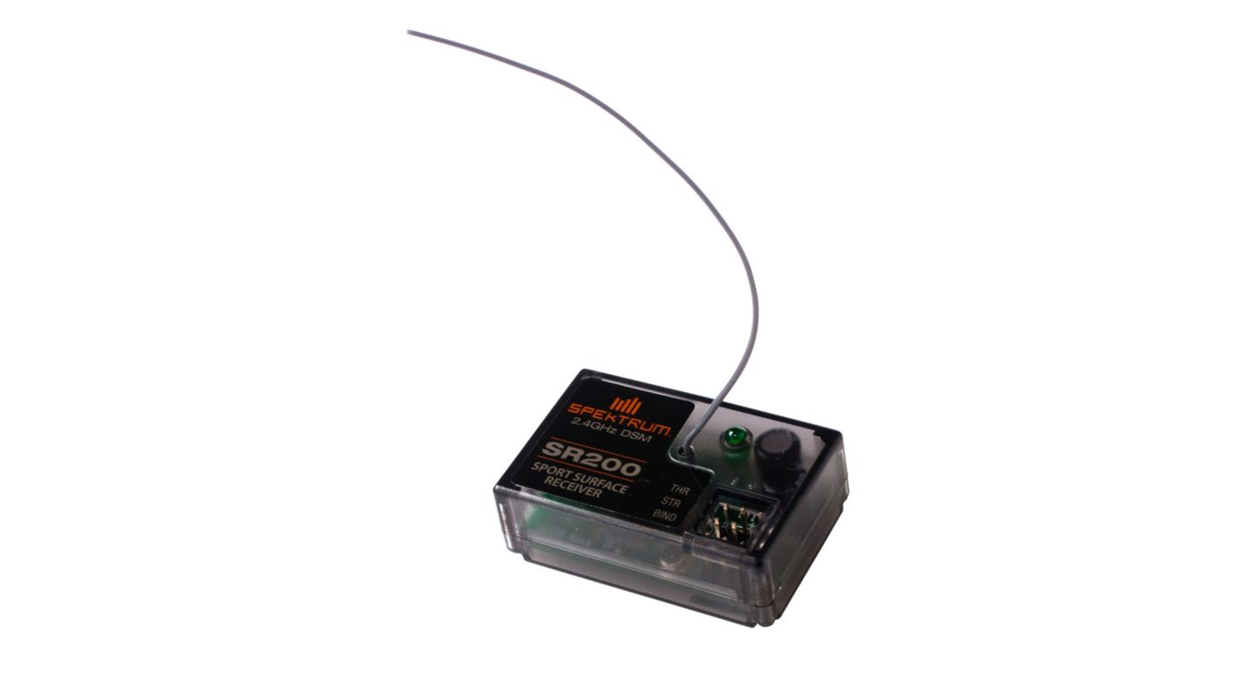 Image for SR200 2-channel DSM Sport Receiver from HorizonHobby