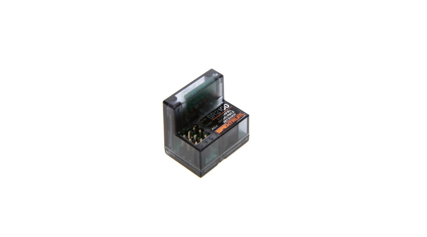 Image for SR2100 DSMR 3-Channel Micro Race Receiver with Built in Antenna from HorizonHobby