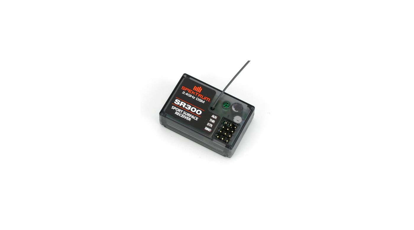 Image for SR300 3-Channel DSM Sport Surface Receiver from HorizonHobby