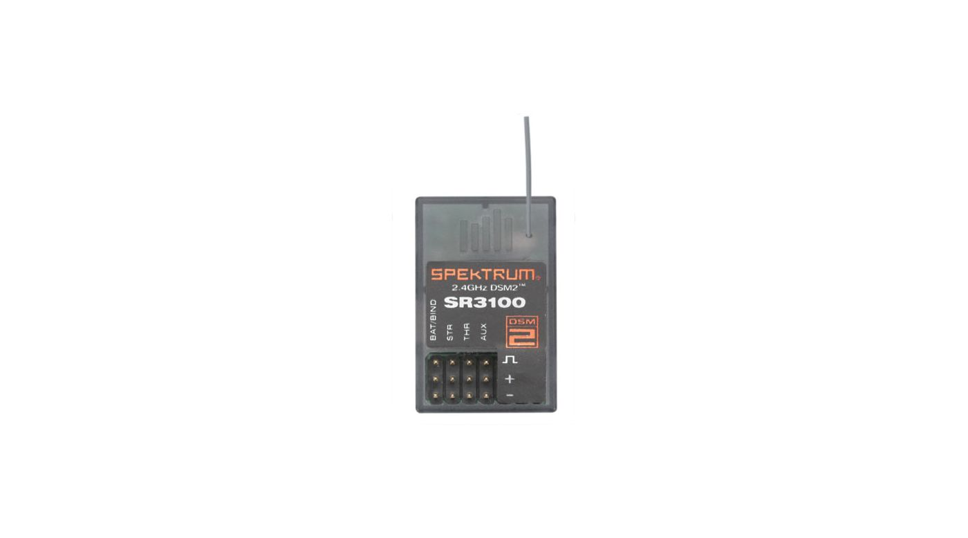Image for SR3100 DSM2 3CH Receiver:Surface from HorizonHobby