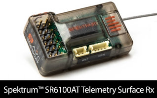Spektrum SR6100AT Telemetry Surface Receiver