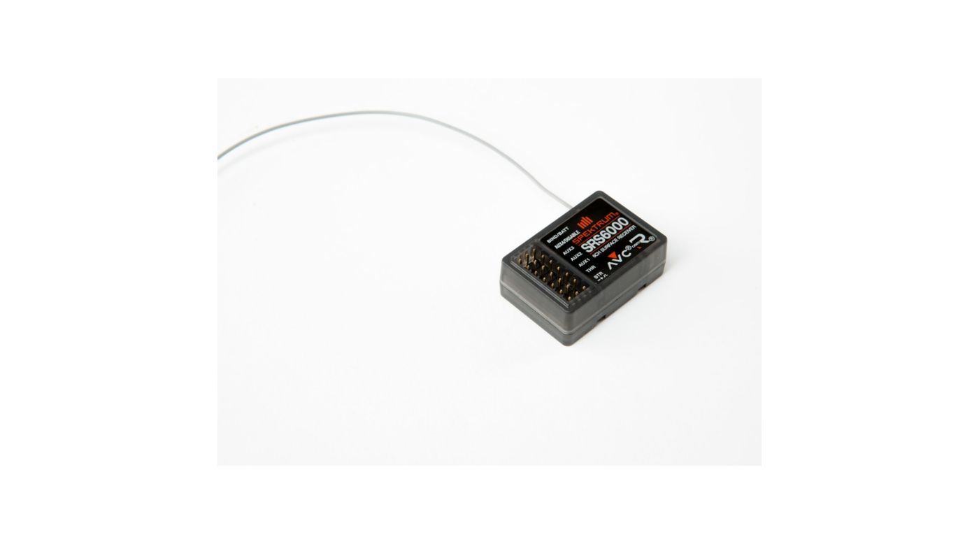Image for SRS6000 6-Channel DSMR AVC Surface Receiver from HorizonHobby