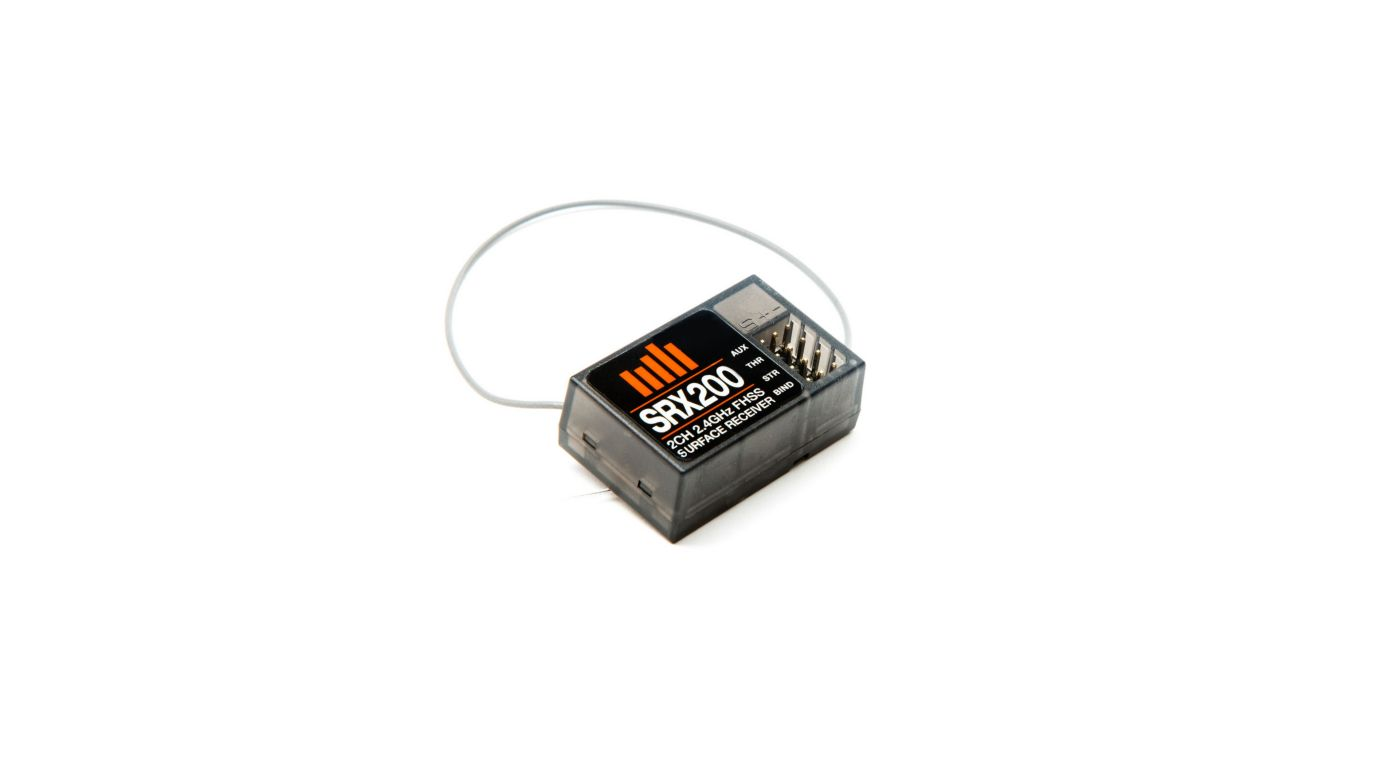 Image for SRX200 3Ch 2.4GHz FHSS Receiver from Horizon Hobby