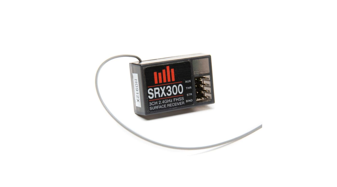 Image for SRX300 FHSS 3-Channel Receiver from HorizonHobby