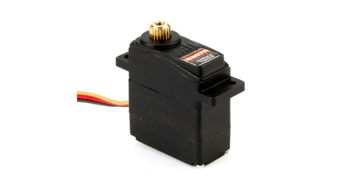 Image for S3070 Digital Sub-Micro Surface Servo: Water Resistant from HorizonHobby