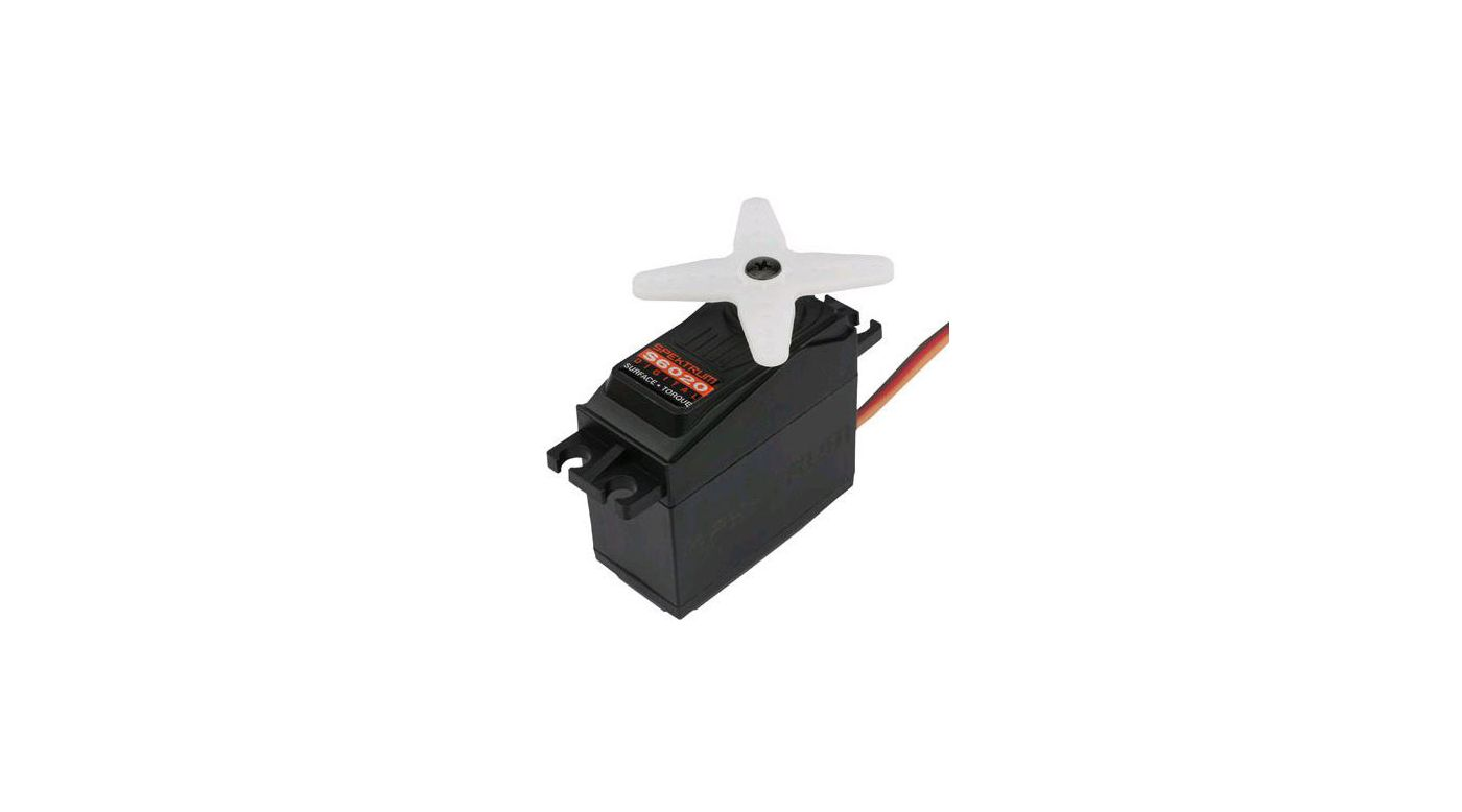 Image for S6020 Standard Digital High Torque Metal Gear Surface Servo from HorizonHobby