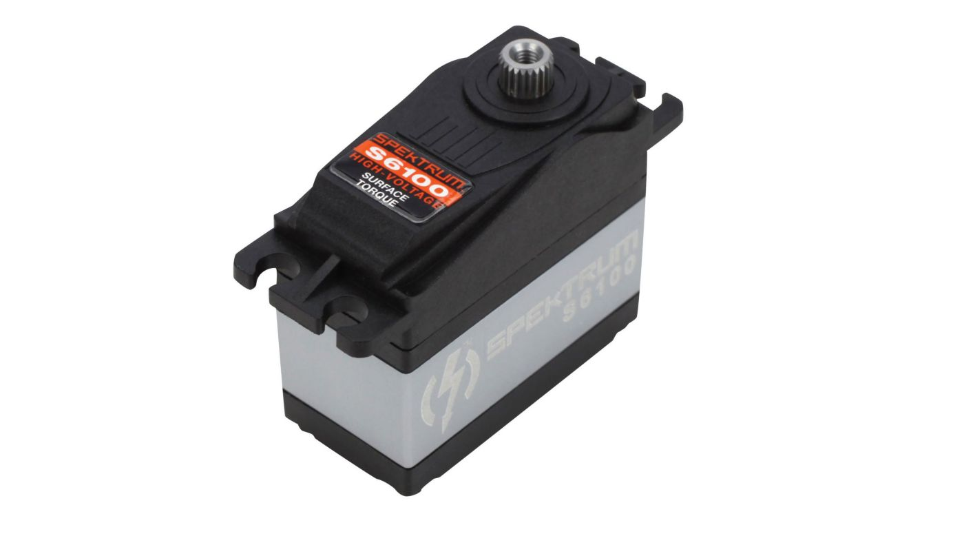 Image for S6100 High Voltage Surface Servo - Torque from HorizonHobby