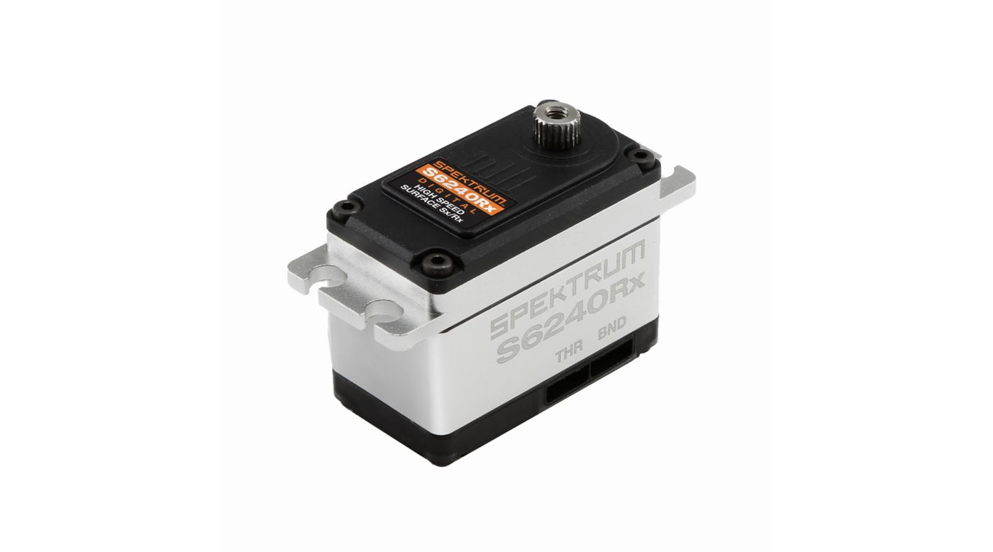 Image for S6240RX Standard Digital High Speed Metal Gear Servo with DSMR Receiver from HorizonHobby