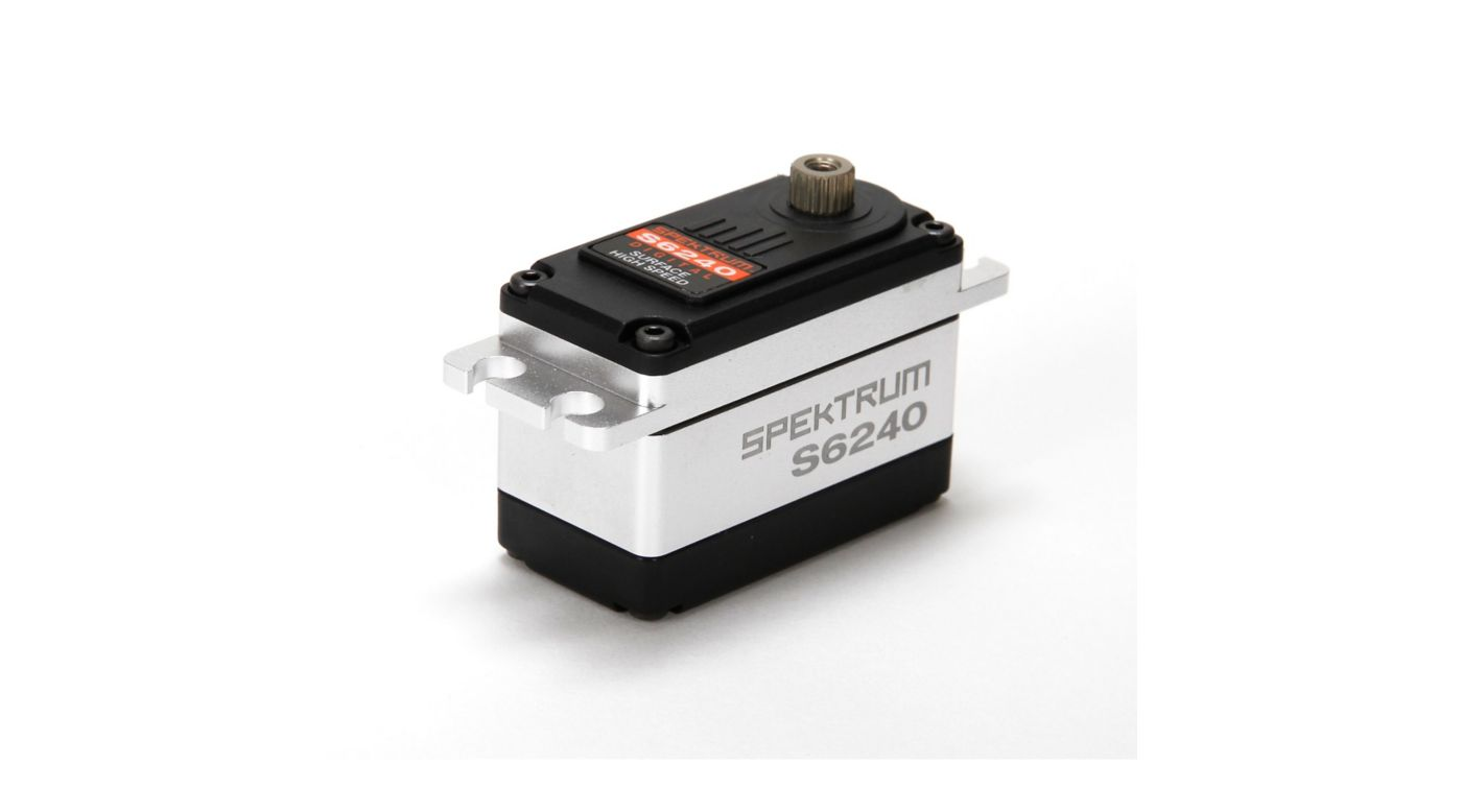 Image for S6240 Standard Digital High Speed Waterproof Metal Gear Surface Servo from HorizonHobby
