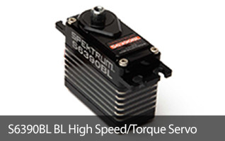 The S6390BL servo is developed from the ground up to handle the rigors and demands of the brutal 1/8-scale off road world