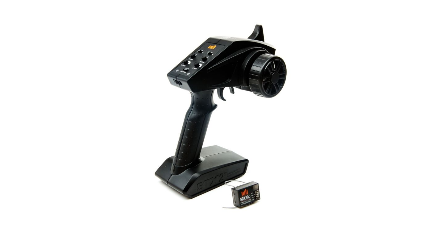 Image for STX2 2-Channel 2.4GHz FHSS Transmitter with SRX200 from Horizon Hobby