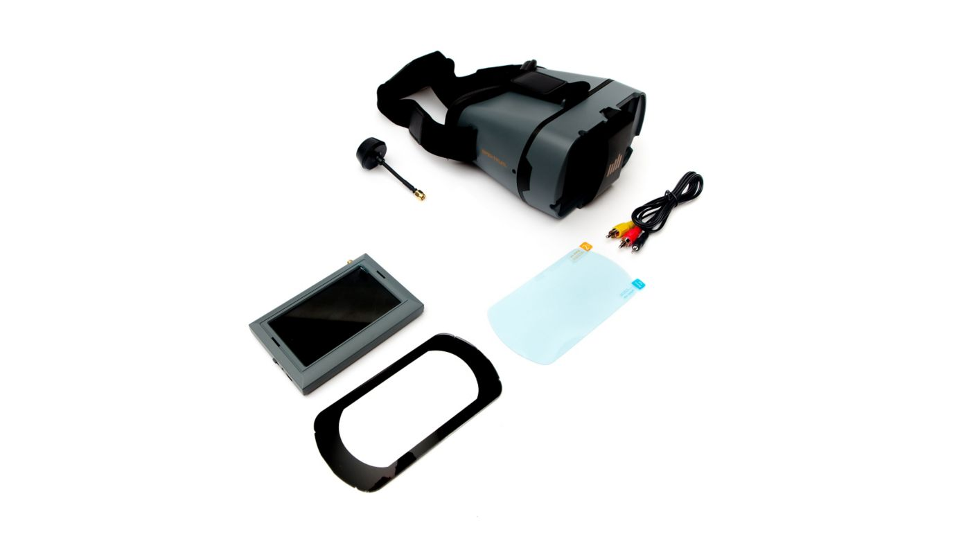 Image for Spektrum 4.3 inch Video Monitor with Headset from Horizon Hobby