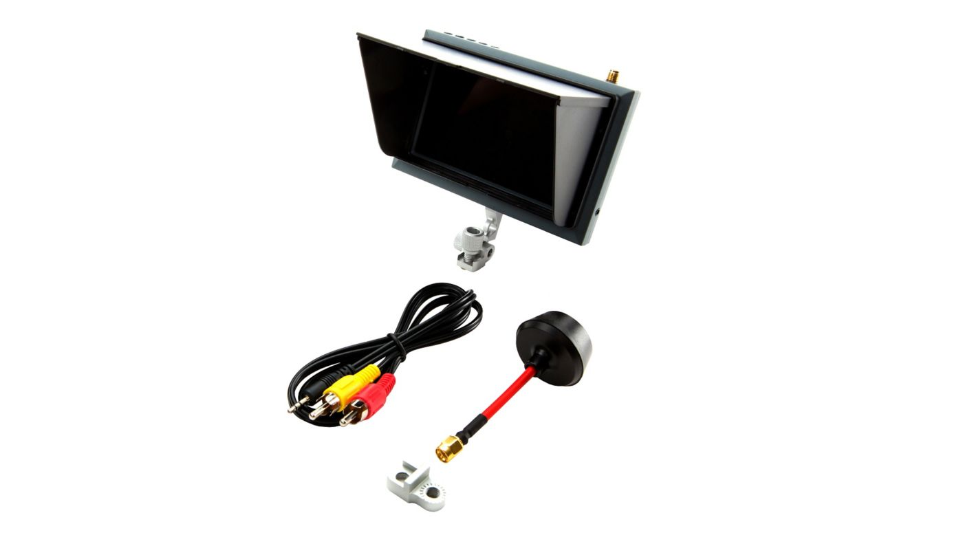 Image for 4.3 Inch FPV Video Monitor with Sunshade and Mount from HorizonHobby