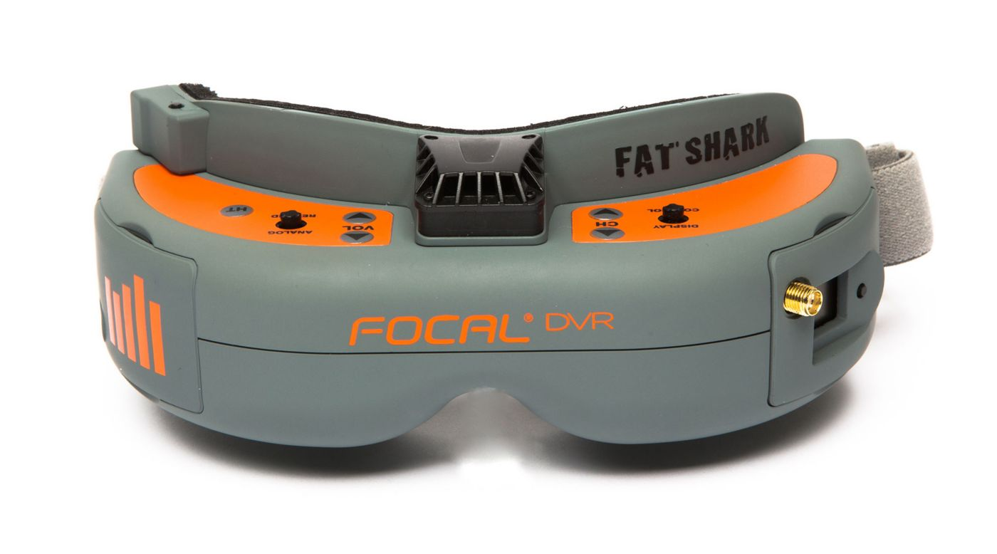 Image for Focal DVR FPV Headset from Horizon Hobby