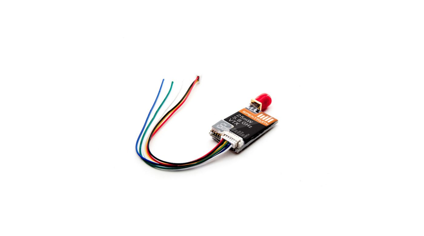 Image for 25mw 5.8 GHz video transmitter with Raceband from HorizonHobby