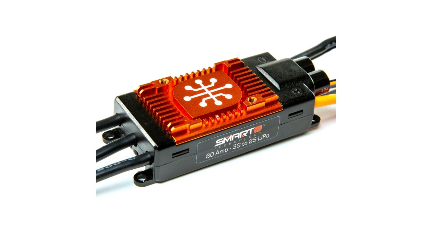 Image for Avian 80 Amp Brushless Smart ESC, 3S-8S from Horizon Hobby