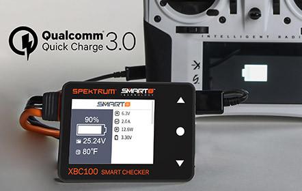 Qualcomm ® 3.0 USB Charge Port